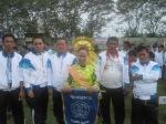 Tim manajer Kesebelasan SMPN 10 Tebing Tinggi